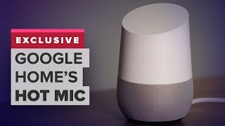 Google Home's new hot mic feature