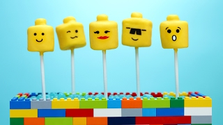 LEGO MARSHMALLOW POPS ft iJustine! - NERDY NUMMIES
