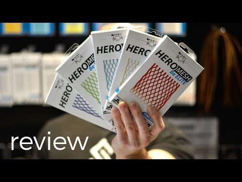 Hero Color Review   East Coast Dyes Lacrosse Mesh