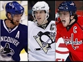1000th Point Compilation Ovechkin Sedin Crosby mp3