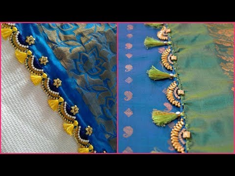 Latest Saree Tassels Design I  Saree Kuchu Design For Wedding I R Fashion Design