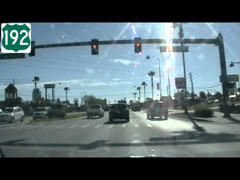 US192 Eastbound Part 1 - Kissimmee, FL (silent)