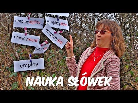 ► Drzewo Słowotwórcze - Nauka Słówek. Employ, Employer, Employee... Nauka Angielskiego.