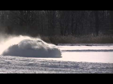 My Audi A4 Snow Drifting After Blizzard January 11th 2011