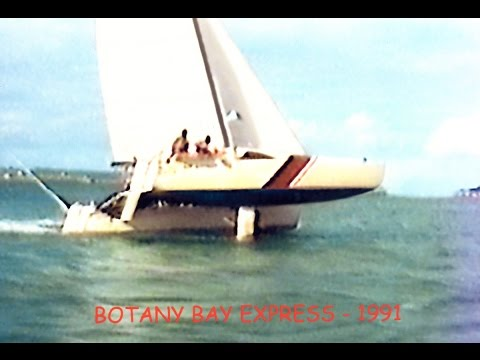 Botany Bay to Broughton Island on GBE 28 Catamaran BOTANY BAY EXPRESS 1989 Part 1