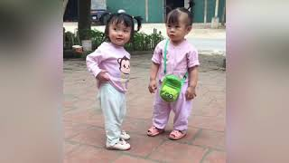 TRY NOT TO LAUGH WATCHING - Funny Kids ❤️VyVy ToysReview TV ❤️  AnAn ToysReview TV
