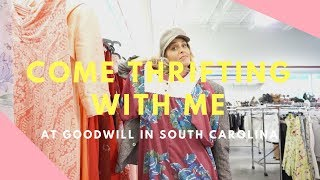COME THRIFTING WITH ME AT GOODWILL/ SPRING CLEANING