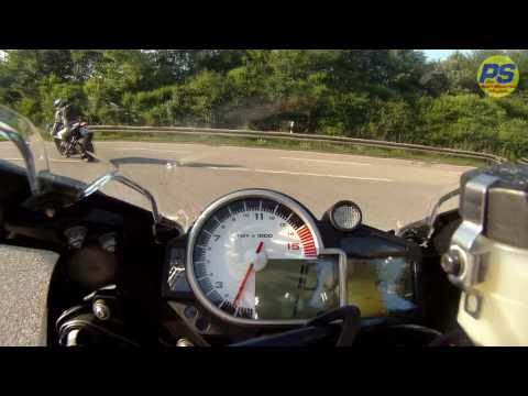 BMW S1000RR Drift Roadtest (vs. GSX-R 1000 K8) TOPSPEED !!!