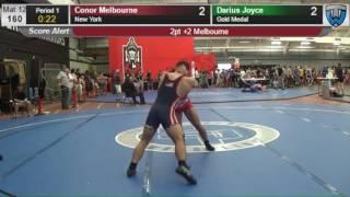 2488 Junior Men 160 Conor Melbourne New York vs Darius Joyce Gold Medal 4139926104