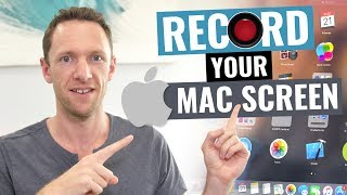 How to Record Your Screen on Mac! (Screen Capture Mac Tutorial)