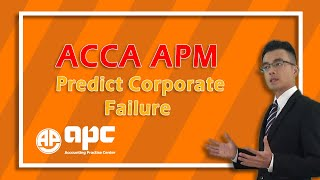 ACCA APC p5 Online Courses -predict corporate failure