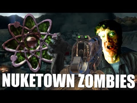Call of Duty Zombies: Nuke Town Map ft. Ronald & Gijs - DEEL 2