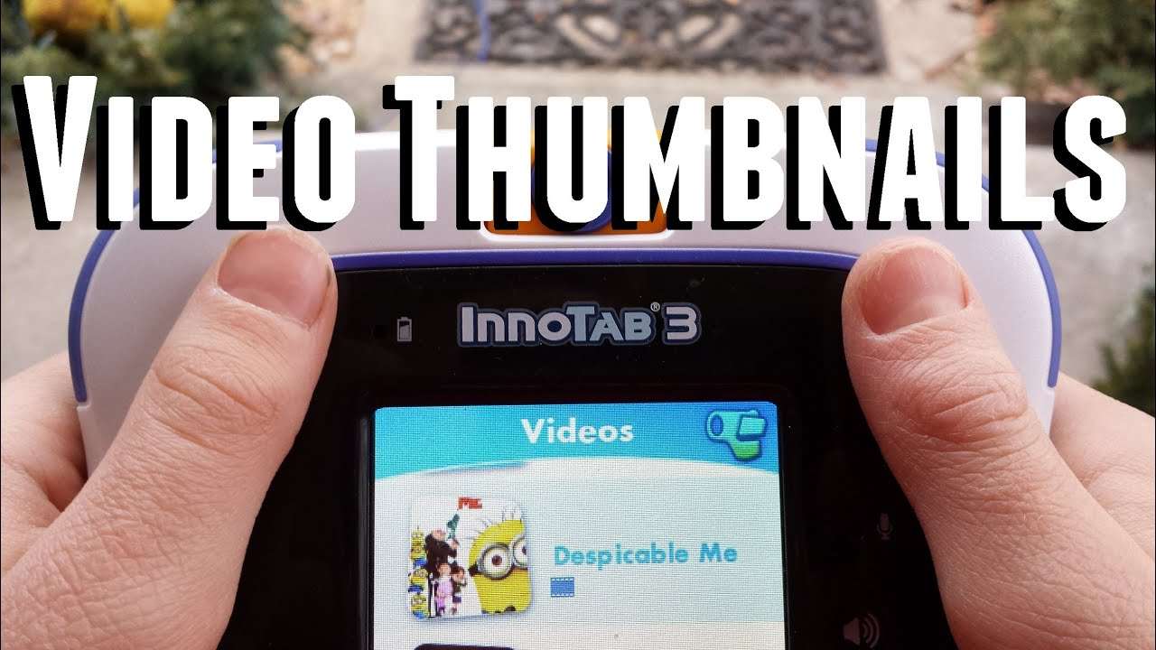 how to add thumbnail to video