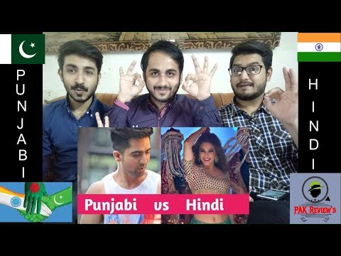 Pakistani Reaction On Hindi Songs vs Punjabi Songs - Which Song Do You Like The Most? | PAK Review's