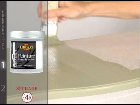 Effet patin meuble de lib ron youtube - Peinture liberon effet patine ...