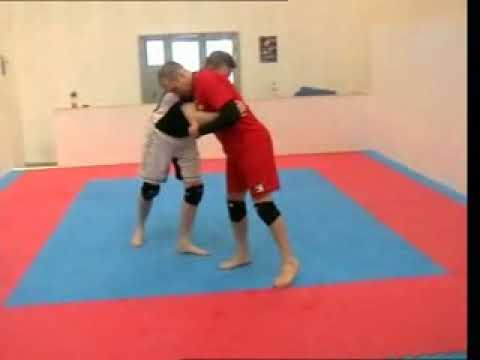 Sambo Techniques - Sambo Throws for Nogi #1 - Arm Drop Throw Image 1
