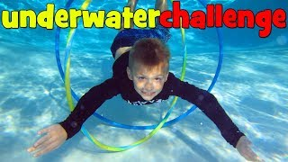 Twins Water Challenges!