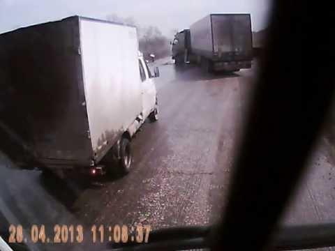 ДТП на  Трассе Сызрань-Самара