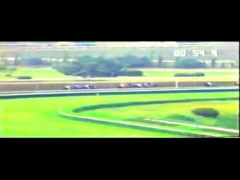 la mejor atropellada de un caballo en la historia de un hipodromo