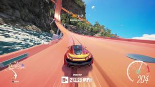Forza Horizon 3 McLaren P1 Gameplay at Hot Wheels Thrilltopia