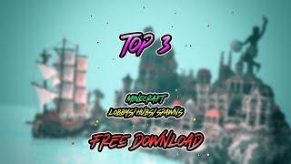 Top 3 Minecraft Hub/Spawn/Lobby FREE DOWNLOAD! 2018