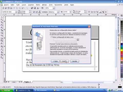 Video-aulas Suite Corel (Draw x Photopaint) - Aula 53