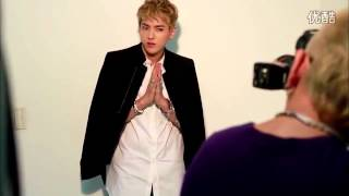 EXO BTS Photoshoot for SoCooL Magazine, October 2013 (Teaser)