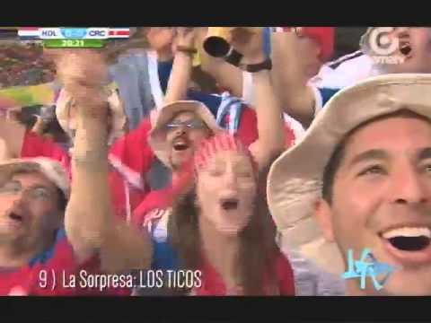 Mejores momentos del Mundial Brasil 2014