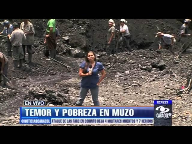 Entre riqueza y miseria, en Muzo temen que se reavive la 'guerra verde' - 05 de abril de 2013