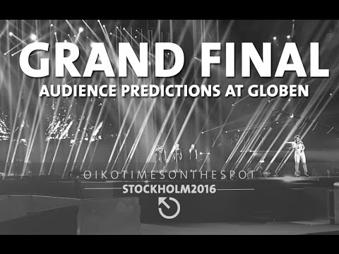 oikotimes.com: audience predictions upon arrival at Globe Arena