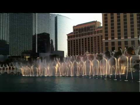 Bellagio Fountains - In The Mood video