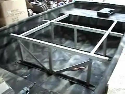 14 Foot Jon Boat Project part 6 - YouTube