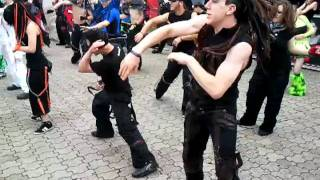 2011-07-17 Amphi Festival -  Cybergoth Tanz