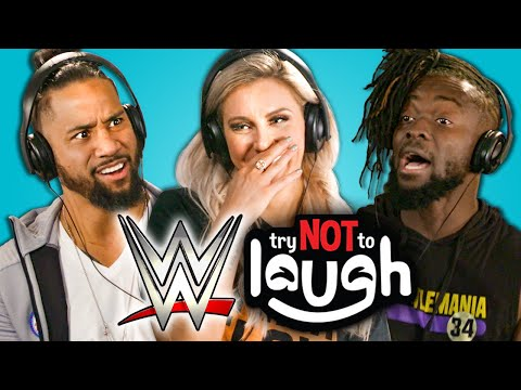 WWE Superstars React To Try Not To Laugh Challenge thumbnail