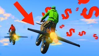 NEW $2.900.000 FLYING ROCKET BIKE!