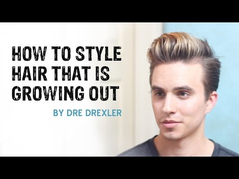 How To Style Hair Growing Out   Ditching the Undercut   Men's Hairstyles