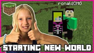 Starting A New World | Minecraft