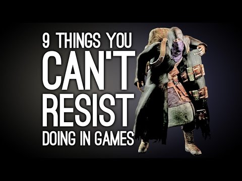 9 Things You Can't Resist Doing in Videogames