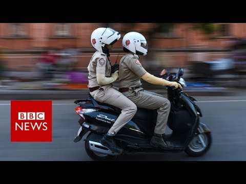 India's all-women police fighting sexual harassment- BBC News