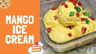 बिलकुल क्रीमी और टेस्टी मैंगो आइसक्रीम बनाने का सबसे आसान और सटीक तरीका/super soft  mango ice cream
