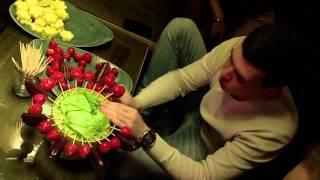 Мастер класс как сделать букет из фруктов своими руками