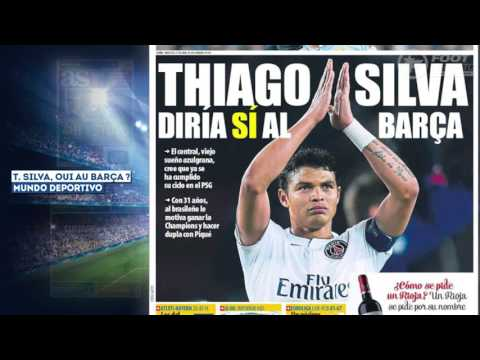 Thiago Silva veut quitter le PSG pour le Barça !