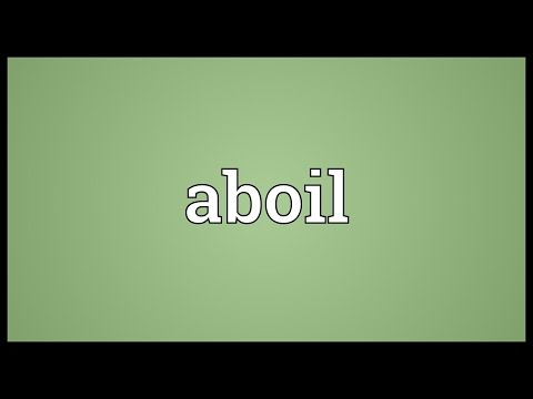 Header of ABOIL