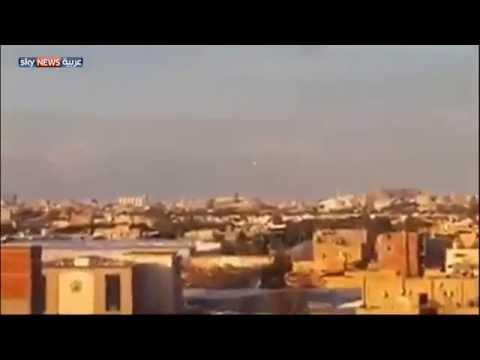 قصف على معاقل فجر ليبيا