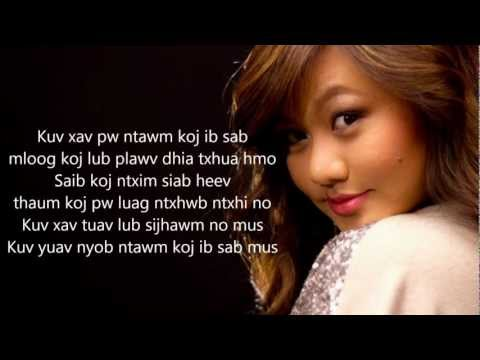 [HD] Kristine Xiong Lub Sijhawm with Lyrics