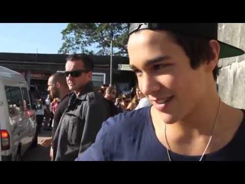 Austin visits Christ the Redeemer in Brazil
