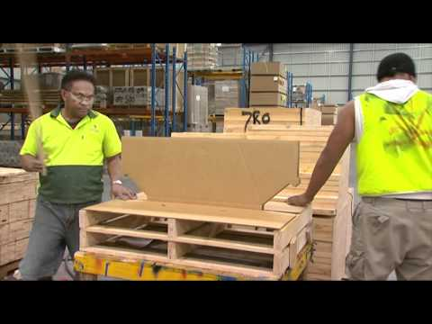 Cardboard Pallets In Sydney | Check Out These Combination Cardboard And Timber Pallets