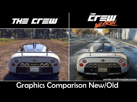 The Crew Wild Run vs. The Crew   Graphics Comparison. Rain & Weather. Gameplay Old vs. New (PS4)