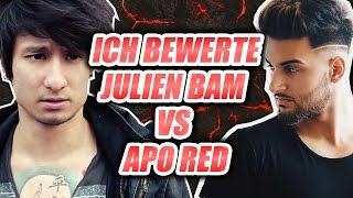 "Julien Bam VS Apo Red - Everyday Saturday / Ich bewerte ""MUSIK"" von YOUTUBERN #5"