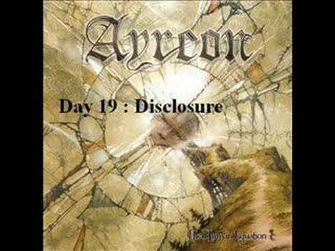 Ayreon - Day Nineteen - Disclosure